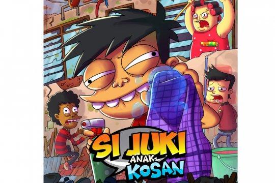 """""""Si Juki Anak Kosan"""" seri animasi Indonesia pertama di Disney+ Hotstar"""