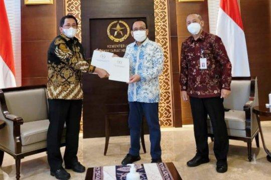 DPR sampaikan surat persetujuan calon Kapolri kepada Presiden