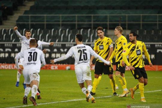 Gladbach terobos empat besar selepas taklukkan Dortmund