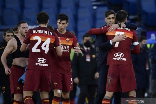 AS Roma susah payah amankan kemenangan 4-3 atas Spezia