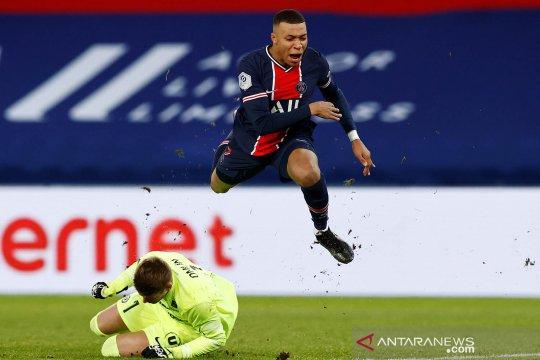Paris St Germain puncaki klasemen sementara usai kalahkan Montpellier 4-0