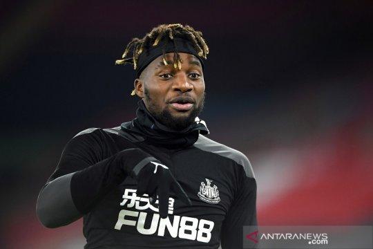 Newcastle segera kembali diperkuat Allan Saint-Maximin