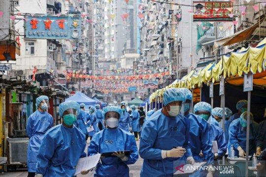 Hong Kong cabut 'lockdown' di Kowloon setelah menguji 7.000 orang