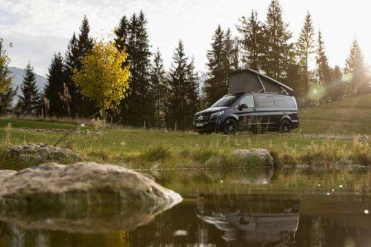 "Mercedes-Benz terima pesanan van ""custom"" untuk kemping"