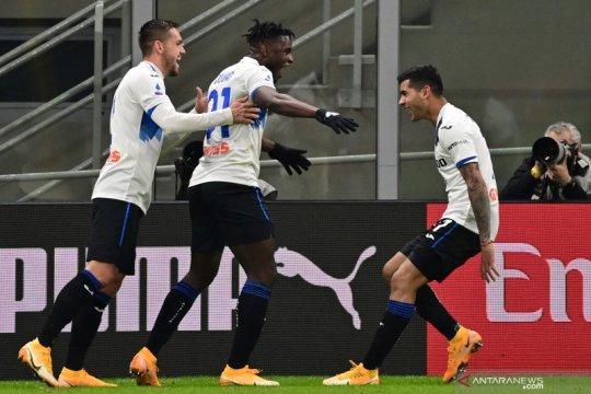 Atalanta telan pemuncak klasemen Milan tiga gol tanpa balas