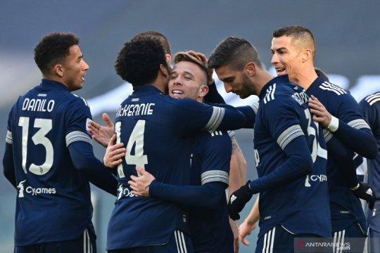 Juventus masuk ke empat besar setelah menang 2-0 atas Bologna