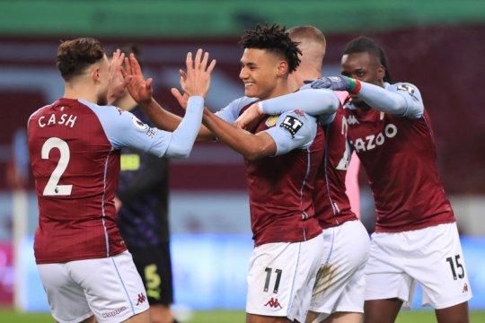 Akhiri paceklik gol, Watkins antar Villa tenggelamkan Newcastle 2-0