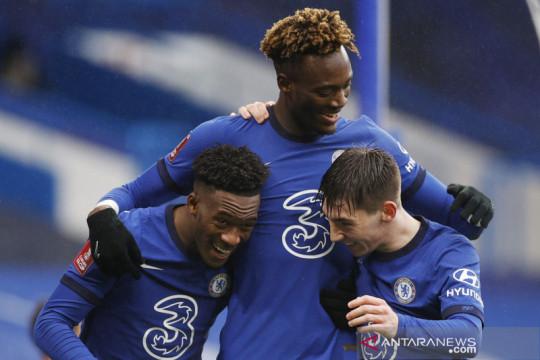 Trigol Tammy Abraham menangkan Chelsea atas Luton Town
