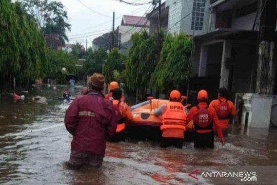 Hujan akibatkan 22 titik genangan di Bekasi