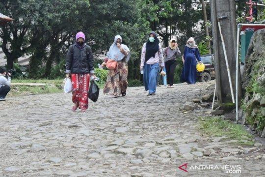 Pengungsi banjir bandang puncak Bogor sudah dibolehkan pulang