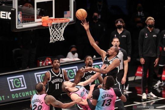 Durant kembali, Nets sukses atasi Pelicans