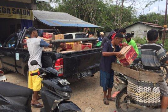 Posko Kemanusiaan Kalbar distribusikan bantuan bagi korban bencana