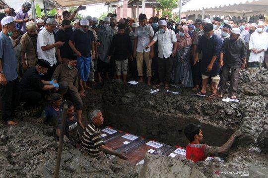 Empat korban jatuhnya pesawat Sriwijaya Air belum teridentifikasi