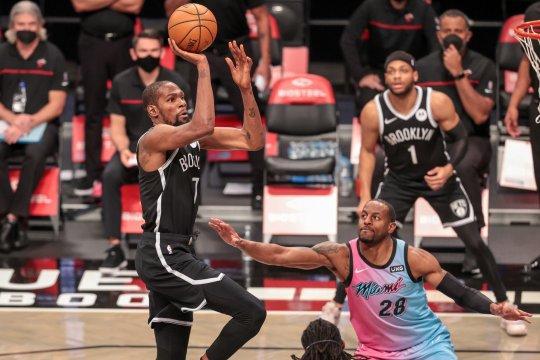 Kevin Durant bawa Nets menang besar atas Timberwolves