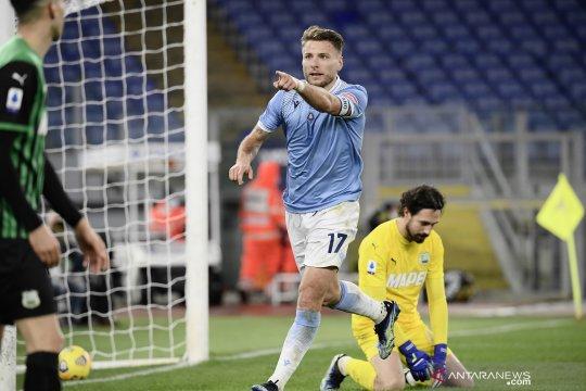 Lazio kunci kemenangan atas Sassuolo meski tertinggal terlebih dahulu
