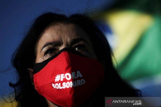 Jumah kematian COVID-19 Brazil lampaui 1/4 juta
