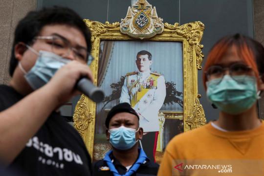 Aktivis pemuda Thailand lanjutkan protes meskipun pertemuan dilarang