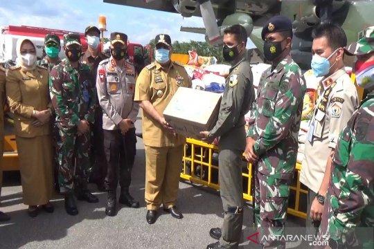 Pesawat Hercules angkut bantuan kemanusiaan Sultra ke Sulbar