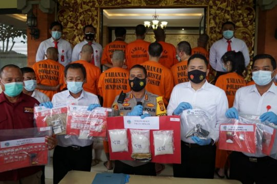 Residivis narkotika kembali dibekuk Polisi karena miliki 1,5 kg sabu