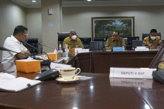 Gubernur Papua Barat temui Moeldoko