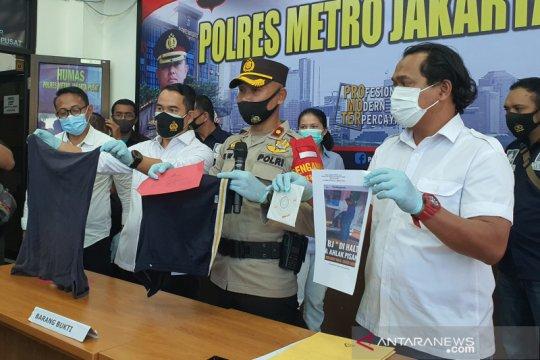 Polisi amankan satu wanita pelaku tindakan asusila di Halte SMKN 34