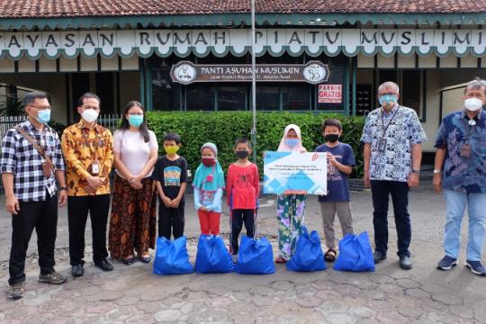 PT PPI beri bantuan ke kaum dhuafa Jabodetabek dan Lampung saat Covid