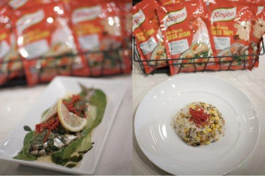 Ide variasikan nasi dengan ubi, kacang hijau berpadu ikan kembung