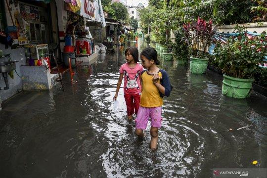 Pemprov DKI: Drainase tak mampu tampung curah hujan ekstrim