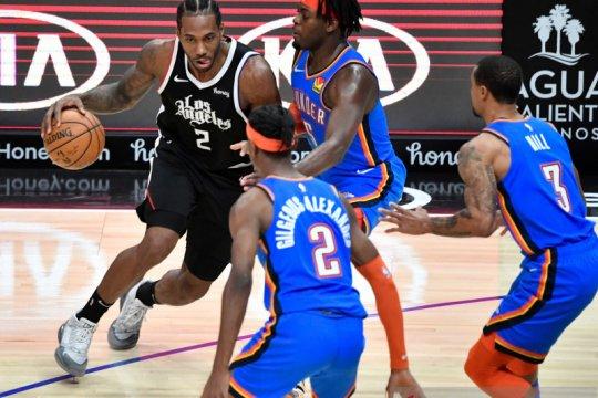 Tundukkan Thunder, Clippers cetak tujuh kemenangan beruntun