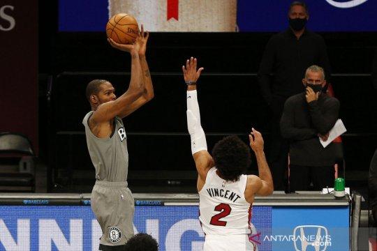 Nets tidak akan diperkuat Kevin Durant sampai Jumat