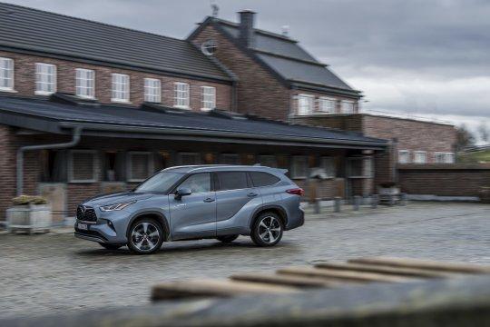 Toyota Highlander 2021 meluncur pertama kali di Eropa