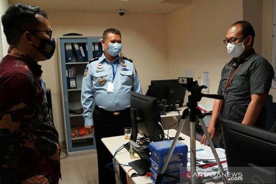 Ditjen PAS mengecek fasilitas di Rutan KPK