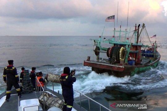 KKP amankan tiga kapal pencuri ikan di Selat Malaka