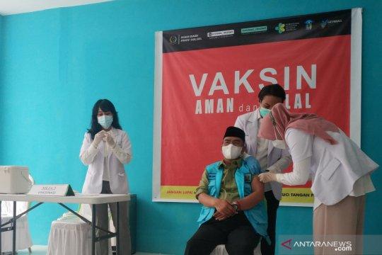 Pemprov Sulsel targetkan vaksinasi nakes selesai Maret 2021