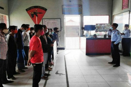16 narapidana Lapas Sampit mendapat asimilasi rumah