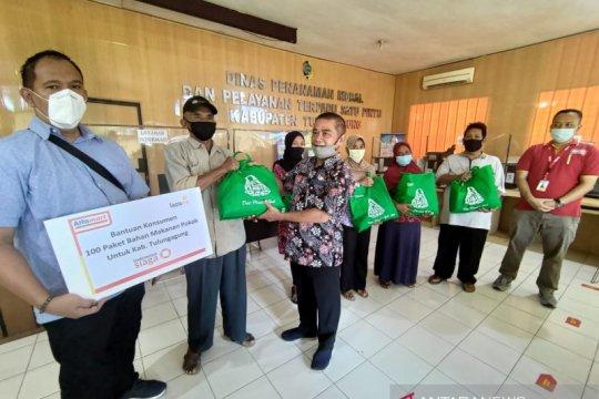 Alfamart salurkan program donasi konsumen di sejumlah kota di Jatim
