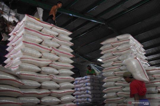 Stok beras di Pasar Induk Beras Cipinang aman jelang Ramadan