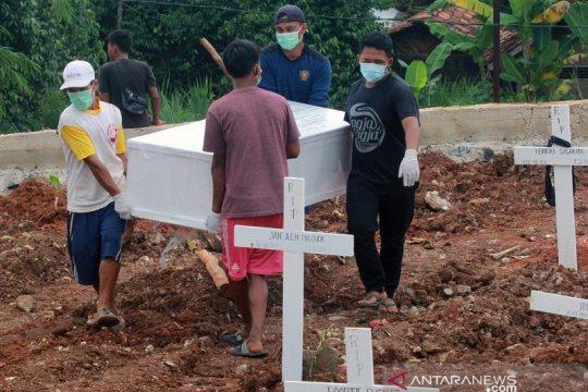 Pemakaman jenazah dengan protokol COVID-19