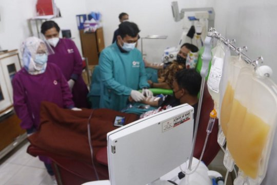 PMI Kota Tangerang sudah salurkan 250 kantong darah plasma konvalesen