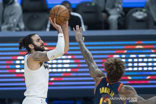 NBA: Golden State Warriors tundukkan Minnesota Timberwolves 130-108