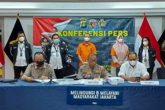 Polda Metro Jaya ringkus pasutri tipu pengusaha Rp39 miliar