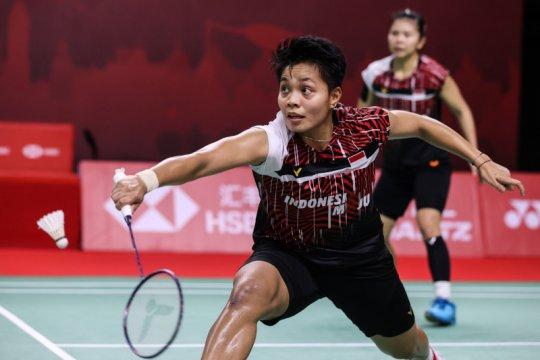 Greysia/Apriyani unggul atas Lee/Shin pada laga pembuka BWF Finals