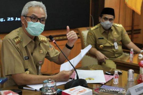 """Ganjar sebut penerapan """"lockdown"""" di Jawa tidak mudah"""