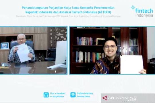 Kemenko Perekonomian & AFTECH kerjasama kembangkan ekonomi digital