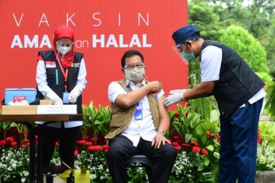 Pemerintah optimistis terhadap periode vaksinasi yang telah disusun