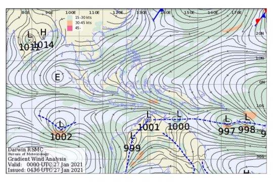 BMKG: Waspadai potensi angin kencang di Jawa Tengah