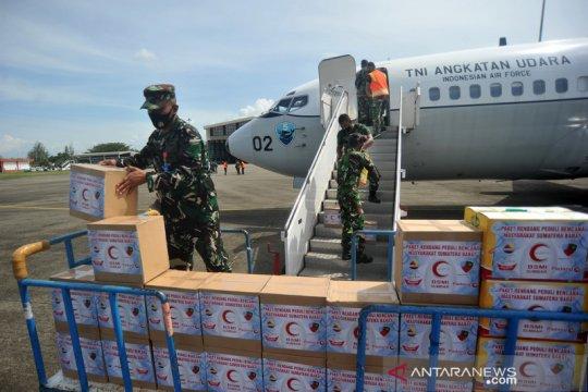 Bantuan rendang bagi korban bencana alam di Sulawesi Barat