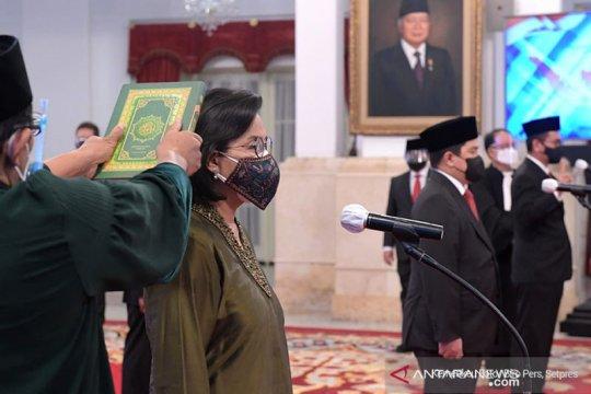 Presiden Jokowi lantik Dewan Pengawas SWF Indonesia