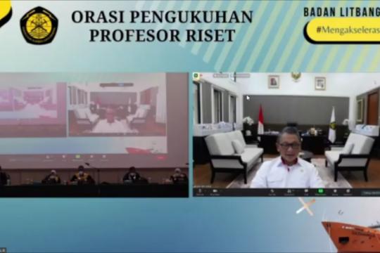 Kementerian ESDM kukuhkan profesor riset ESDM bidang geologi kelautan