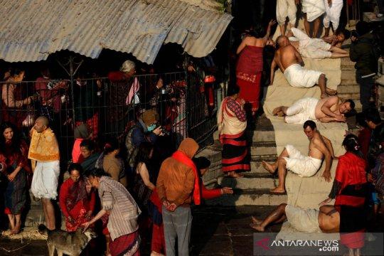 Festival Swasthani Brata Katha di Nepal